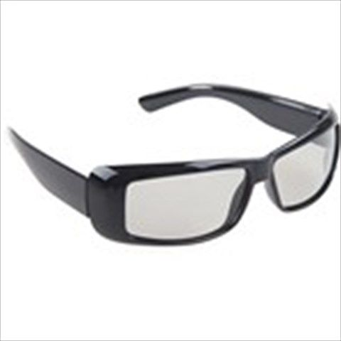 Super Cool A71 Linearly Polarized 3D & 4D Movie Game Glasses with Fashionable ABS Hard Frame