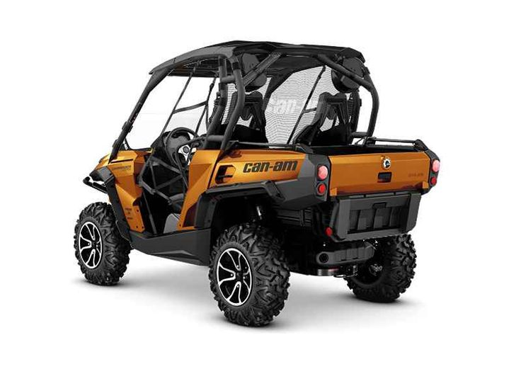 New 2016 Can-Am Commander Limited 1000 ATVs For Sale in Florida. 2016 Can-Am Commander Limited 1000, 2016 CAN-AM® COMMANDER LIMITED 1000THE ULTIMATE FULLY-LOADED 2-SEATERTake the ultimate ride with a fully-loaded side-by-side vehicle.Features may include:85-HP ROTAX 1000 V-TWIN ENGINECATEGORY-LEADING PERFORMANCELiquid-cooled, 8-valve Rotax 976 cc V-twin pumps out a class-leading 85 horsepower, yet is refined thanks to EFI and iTC. The liquid-cooled, single overhead cam power plant features…