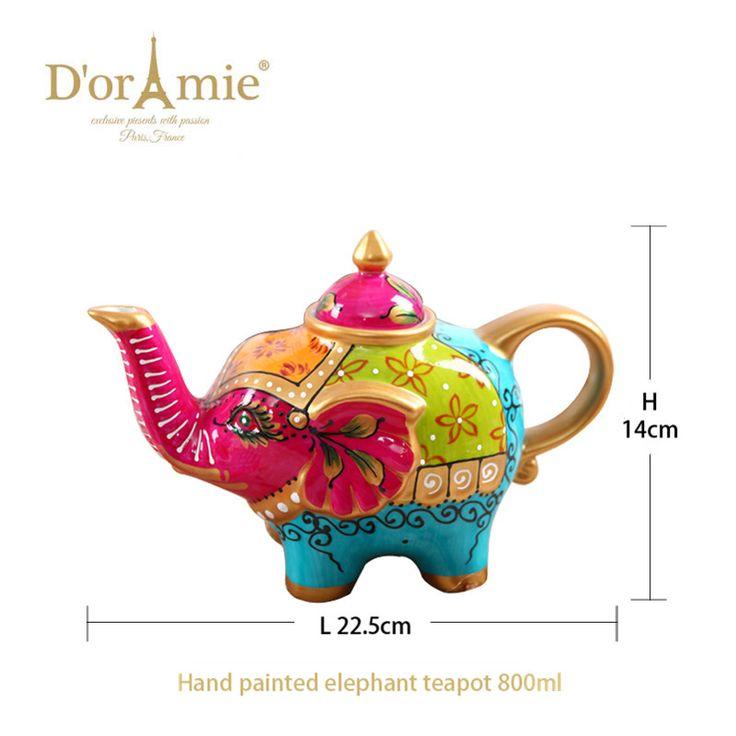 high quality indian teapot elephant teapot