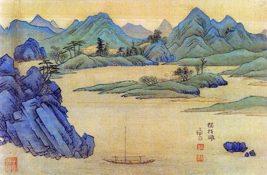 The Real Landscape Painting  독백탄(한강동호) 1740~1 간송미술관