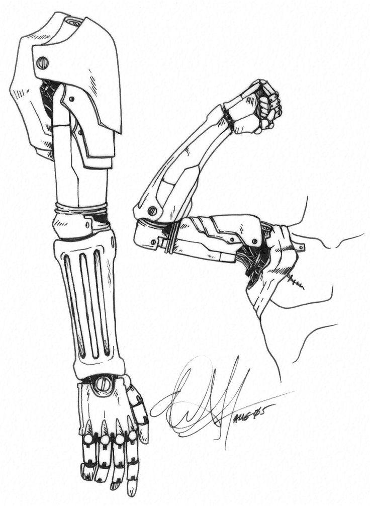 Edward Elric Body Paint Arm