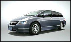 Radical New Honda Odyssey Unveiled: New Honda Odyssey Unveiled in Japan