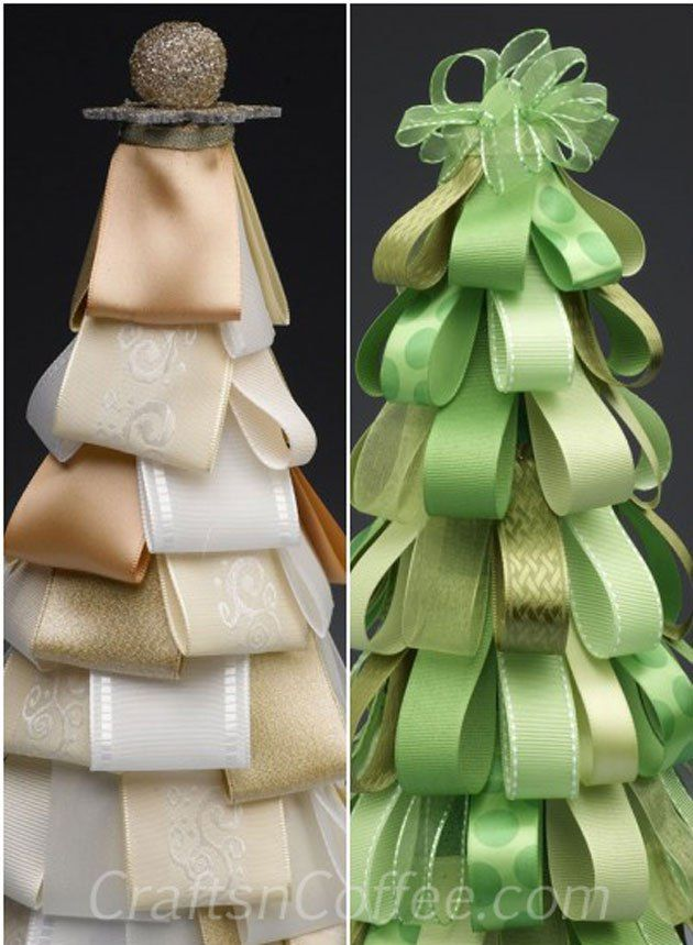 Today, Rebekah Meier shares how to make a Ribbon Loop Topiary Tree. This is such an elegant Christmas topiary tree, yet it's so easy to make. Rebekah crafted her tree in shades of cream, and you ca…