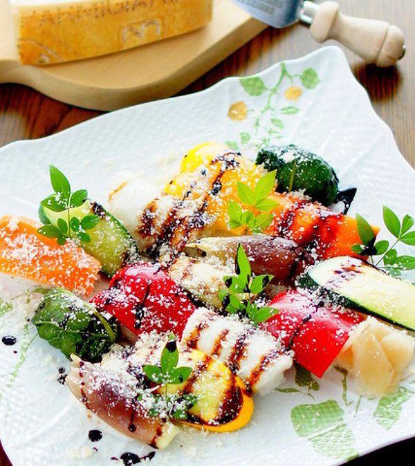パルミジャーノご飯の野菜寿司 by manngo   レシピサイト「Nadia ...