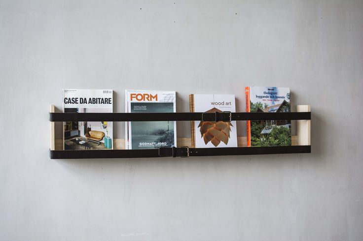 Reader 1 magazine rack. Design Pontus Ny for Möbelverket.