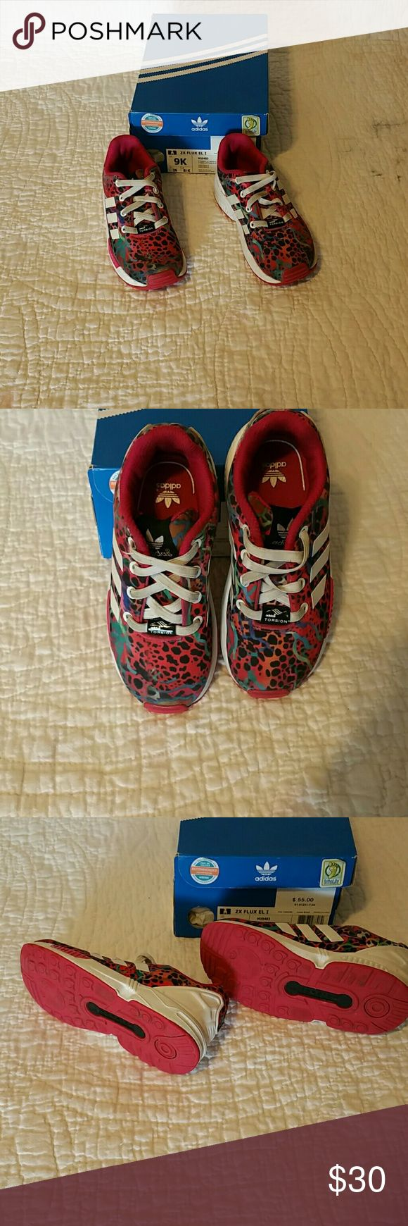 KIDS Adidas ZX FLUX sz. 9k KIDS Adidas ZX FLUX sz. 9k Adidas Shoes Sneakers