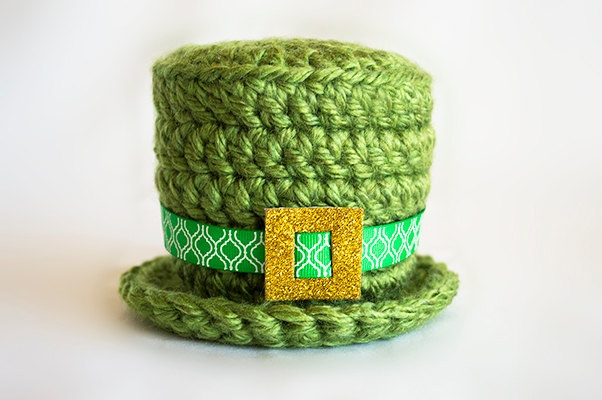 St Patrick's Day Crochet Hat Saint Patty's by CottonLaneBoutique