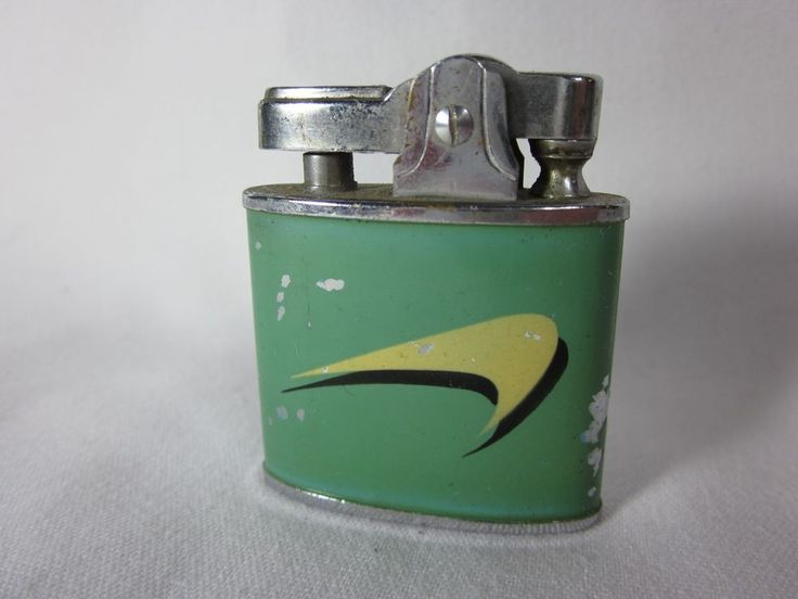 Vintage Working Omega Lighter Newport Cigarettes Advertising #Omega