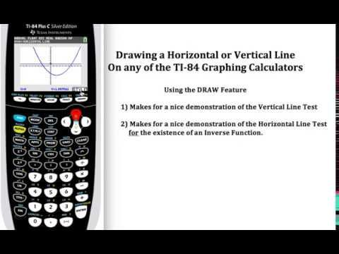 261 best graphing calculators images on pinterest calculator using the draw feature on the ti 84 graphing calculator to demonstrate the vertical ccuart Image collections