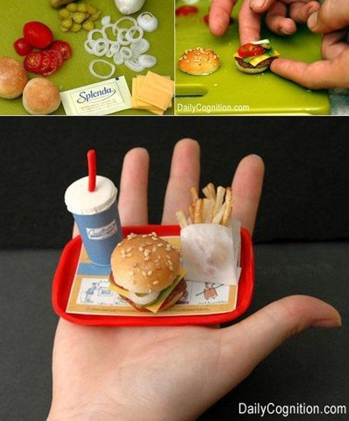 Tiny Value Meal | 58 Very Tiny Cute Things