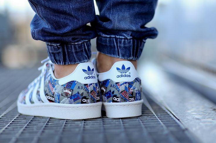 Adidas Superstar Womens On Feet