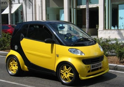 Yellow Smart Car: Kits Yellow, Smart Cars, Cars In, Body Kits, Cars Body, Body Conver, Yellow Cars, Yellow Smart, Dreams Cars