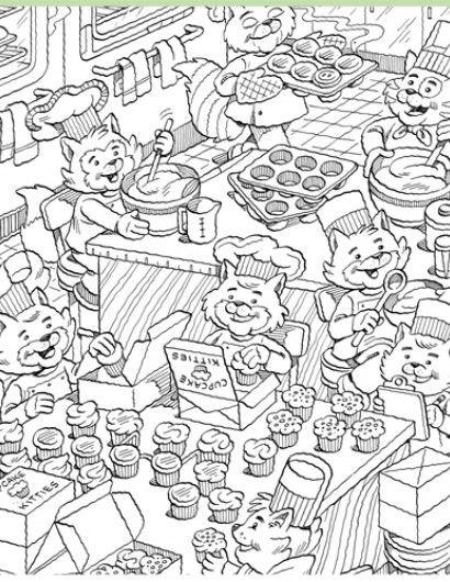 Cupcake Kitties | Classroom - Highlights.com