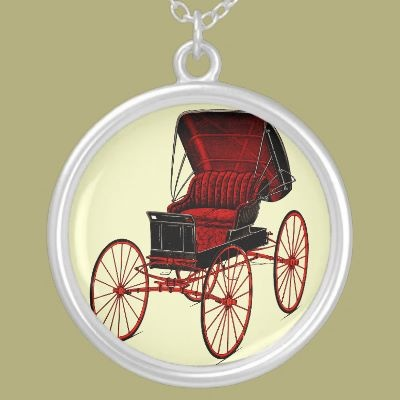 Buggies and Carriages Necklace by remicallens