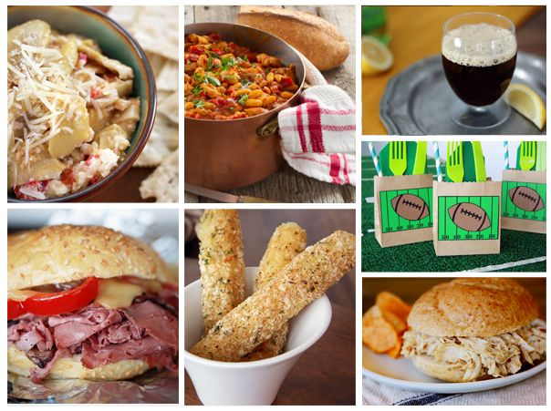 easy & delish tailgating party food recipes on www.CherylStyle.com