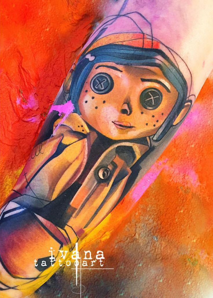 #coraline #doll  Who's favorite movie is this?!   Book me at: toxic-tattoo@hotmail.com