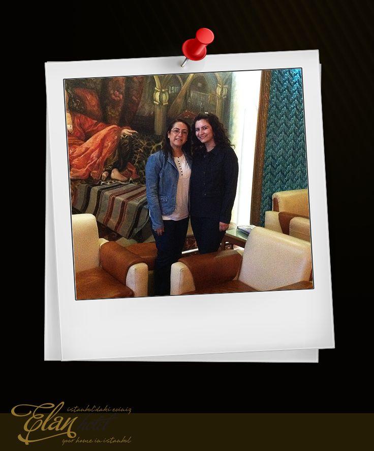 Değerli misafirlerimiz Ayşe (Onut) ve Selda (İçener) hanımlara bizlerle paylaştıkları bu güzel anıları için teşekkür ederiz. #elanhotelistanbul