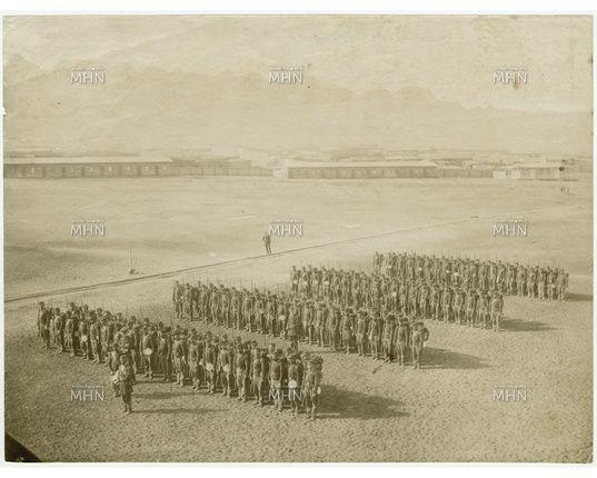 1º Compañía del batallón Naval en Formación. http://www.fotografiapatrimonial.cl/p/20235