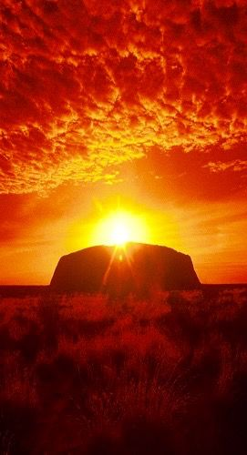 Ayers Rock, Australian Outback