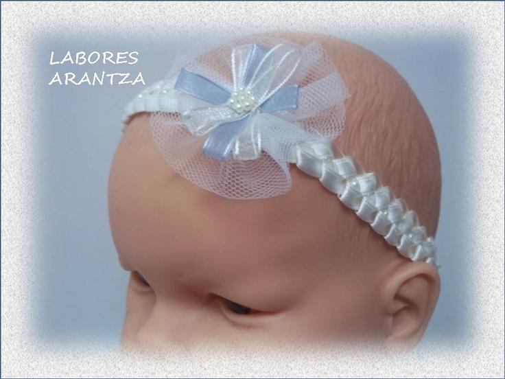 Diademas de bautizo bebes y m s pinterest bautizo bebe y para bebes - Diademas para bebes bautizo ...