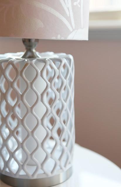 Cover Lamp Shade In Leftover Wallpaper DIY Home Goods Lamp Brooke Jones  Interior