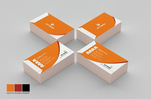 Business Card Template 12 by BdThemes on @creativemarket