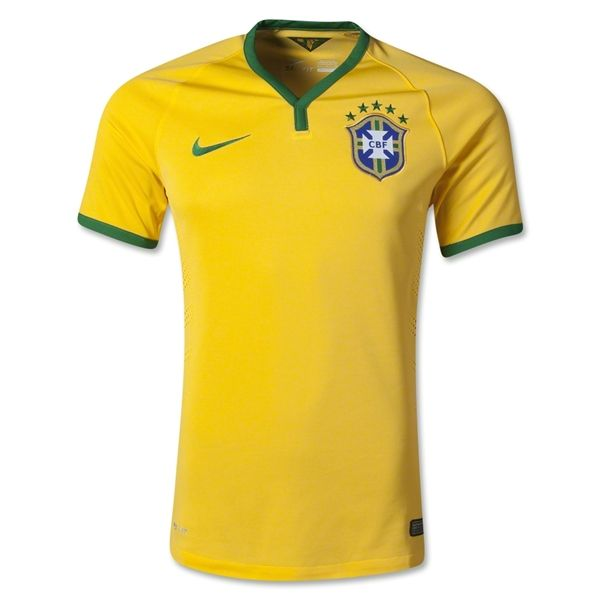 34cd116b8 Brazil 2014 Authentic Home Soccer Jersey - The Official FIFA Online Store