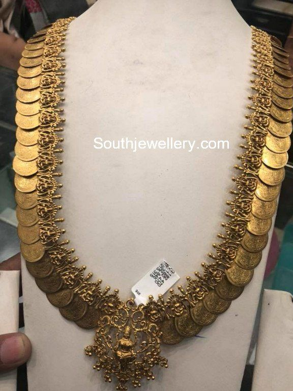 Plain Gold Kasu Haram Photo Gold Jewelry 22 Carat Gold Jewellery Antique Gold Jewelry Indian