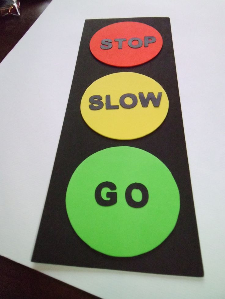 foam traffic light craft kit for kids by mimiscraftshack on Etsy. $1.25, via Etsy.