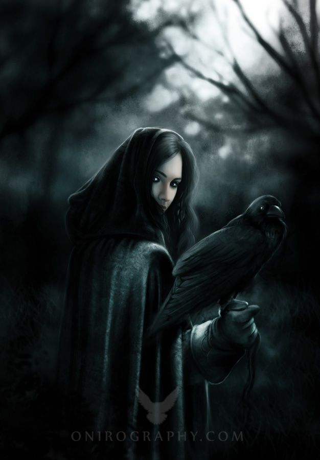 going into pagan category because crows and ravens are apsects of my Goddess Morrighan