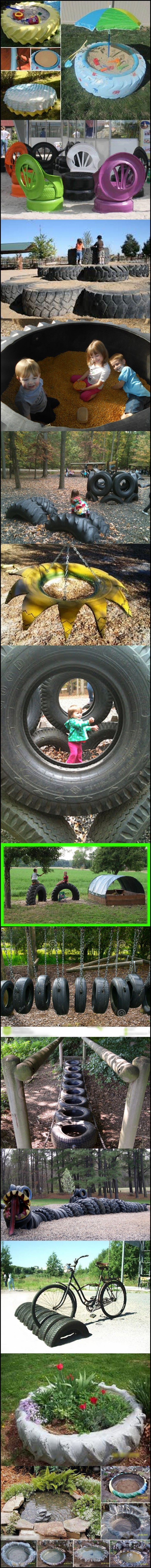 tire ideas 41 best recycled tires images