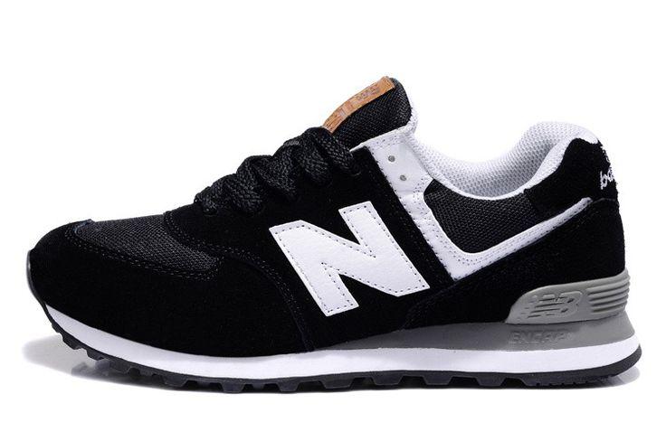 Hoge Kwaliteit New Balance 574 Olympische Ringen ML574UAO Zwarte Mannen Vrouwen Running Shoes
