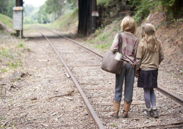 Still of Kyla Kenedy and Brighton Sharbino in The Walking Dead (2010)