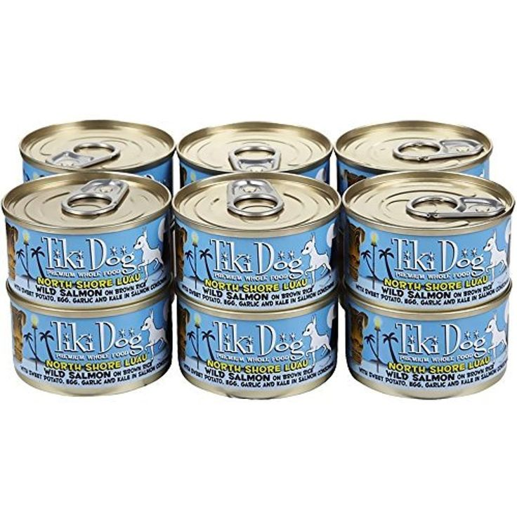 Tiki Dog Canned Food For Dogs North Shore Luau Recipe 2 8z 2 8