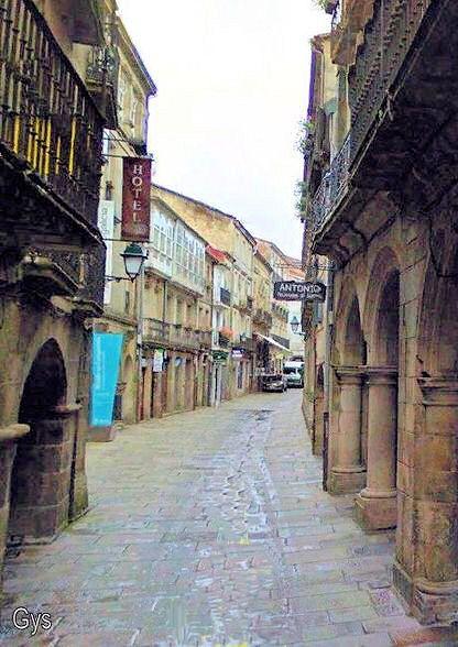 Rúa do Villar, Santiago de Compostela, España