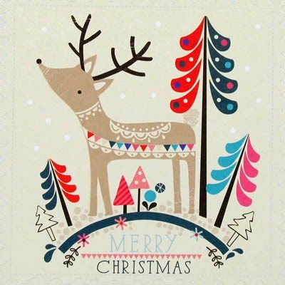 print & pattern: XMAS 2014 - paperchase cards part.1