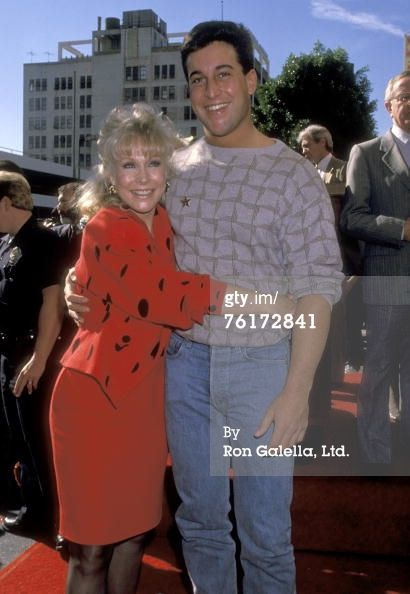 News Photo : Actress Barbara Eden and son Matthew Ansara...