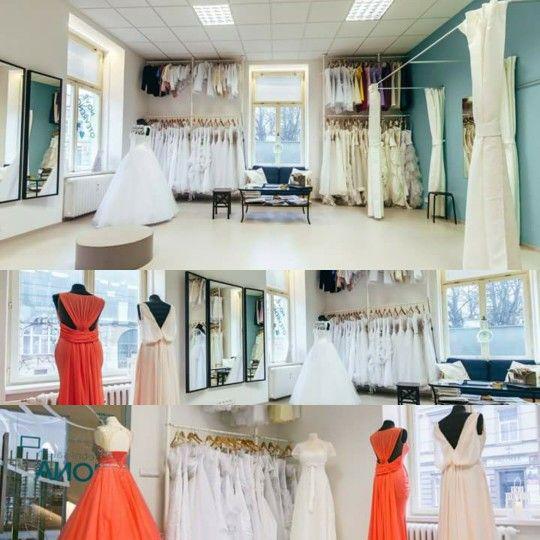 Wedding salon inside
