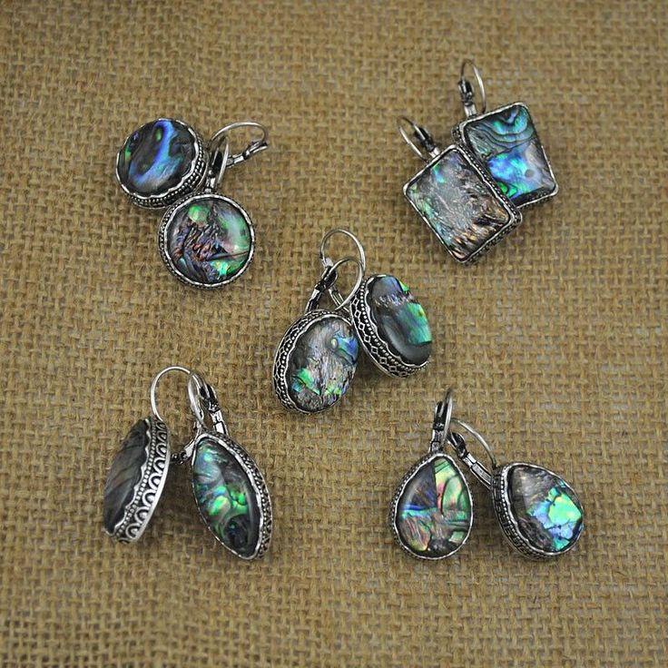 Antique Silver and Shell Earrings - 5 styles  #sale #hippiestyle #accessories #fashionjunkie #jewelry #bohochic #fashion #streetstyle #gypsy #fashionjewelry #fbloggers #fashionforward #fashionaccessories #hippie #streetwearfashion  www.awkwardturtle.ca