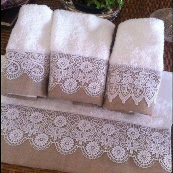 M s de 1000 ideas sobre toallas de mano en pinterest for Adornos con toallas