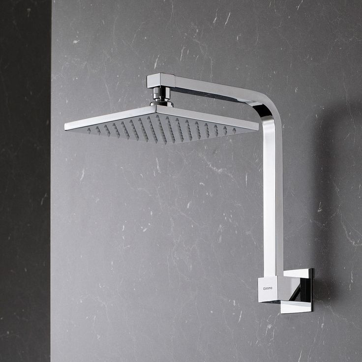 Track Fixed Shower - Clean and contemporary.  http://www.caroma.com.au/bathrooms/showers/track/track-fixed-shower-outlet