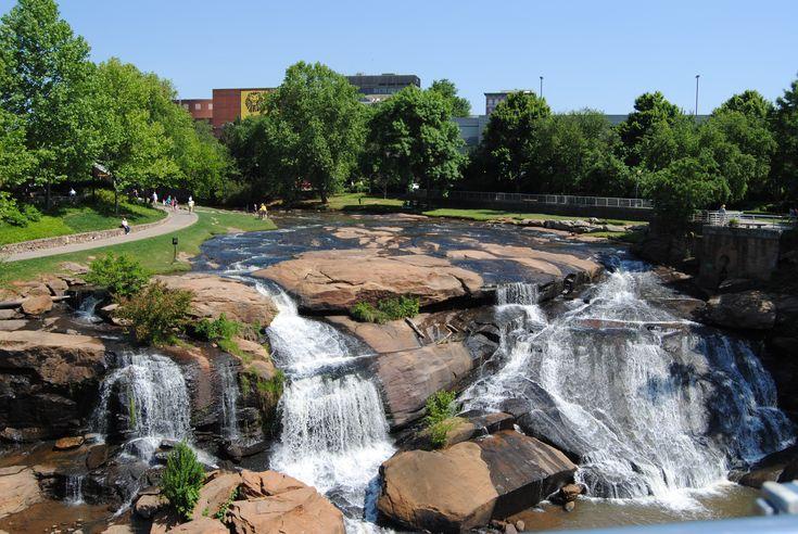 Falls Park In Downtown Greenville Sc South Carolina I