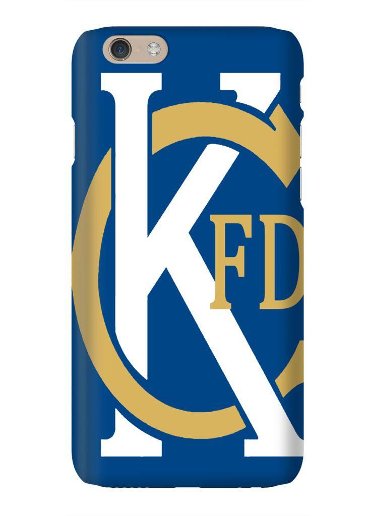 Kansas City Fire Department Tribute KC Baseball Phone Case