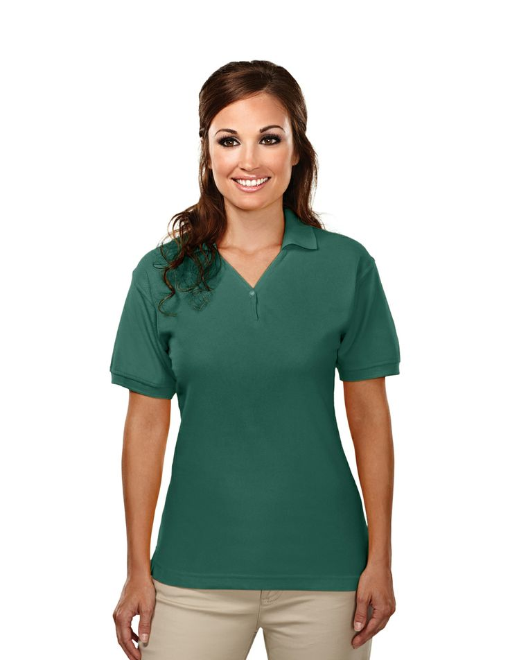 14 best pocketed knit shirts images on pinterest funny for Ladies cotton golf shirts