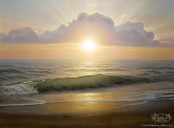 Stefanov Alexander - 'Evening Surf'