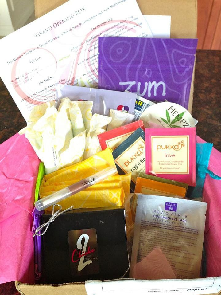 Look Forward to Your Monthly Visitor With a Subscription Period Box! Def going to try this!! So neat! LOL.