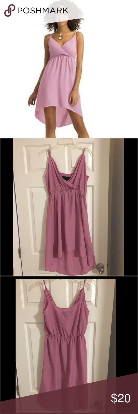 Kardashian Kollection lavender high low dress! Brand new! Never worn! Gorgeous kardashian kollection high low dress. Lighter fabric, perfect for spring/ summer. Kardashian Kollection Dresses High Low