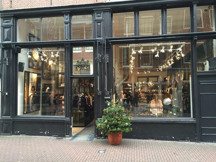 Shop Eingang Amsterdam Vintage Teppich