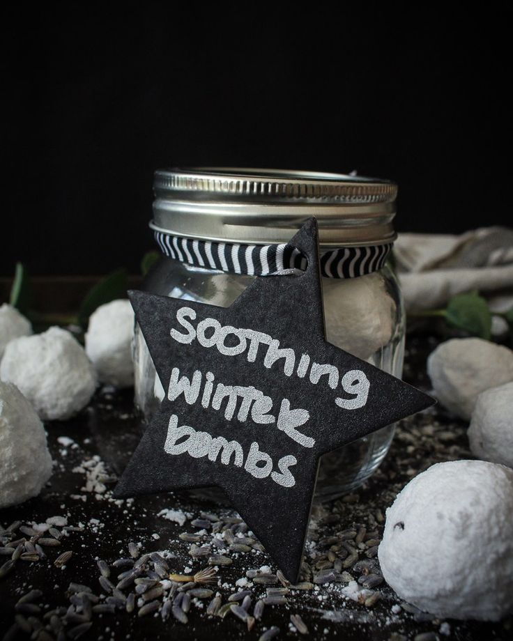 Soothing Winter Shower Bombs