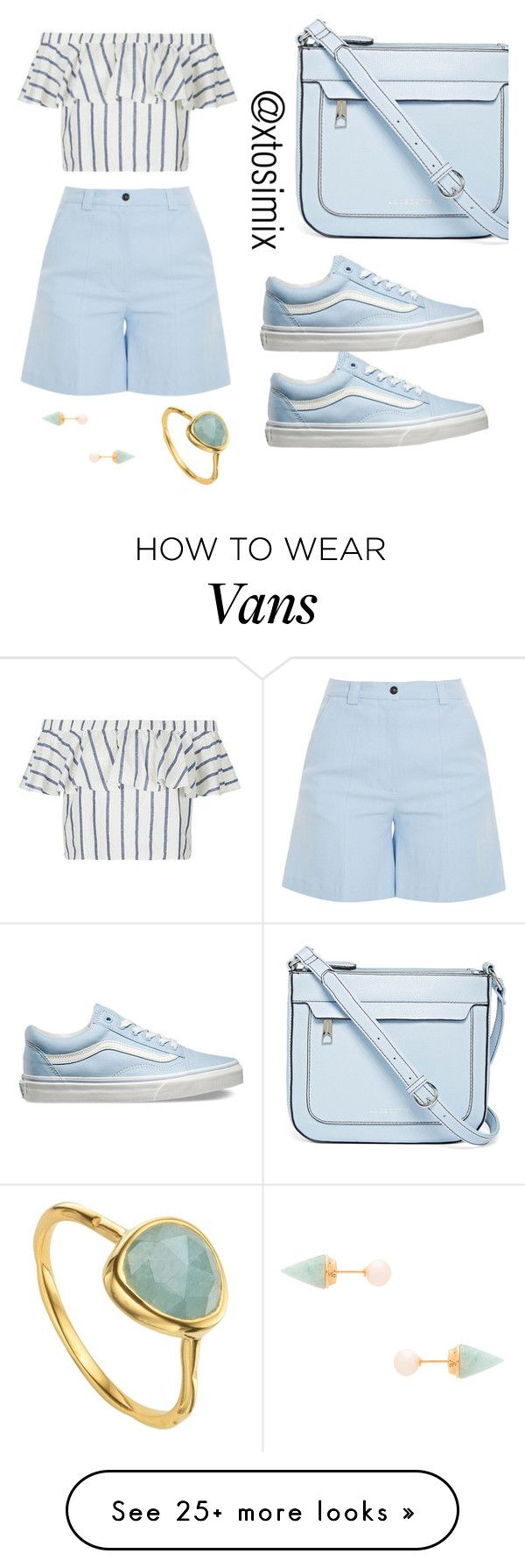 """Untitled #66"" by ayotosimi-falomo on Polyvore featuring Liz Claiborne, Vans, Acne Studios, Topshop, Vita Fede and Monica Vinader"